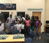 C2B Chess Club Students - Group Picture